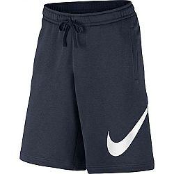 Nike NSW CLUB SHORT EXP BB tmavo modrá L - Pánske šortky