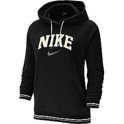 Nike NSW HOODIE FLC VRSTY W oranžová M - Dámska mikina