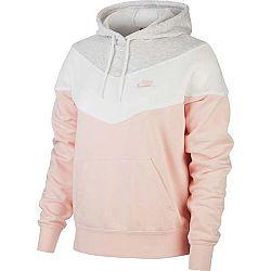 Nike NSW HRTG HOODIE SB ružová XL - Dámska mikina