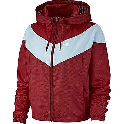 Nike NSW HRTG JKT WNDBRKR červená M - Dámska bunda