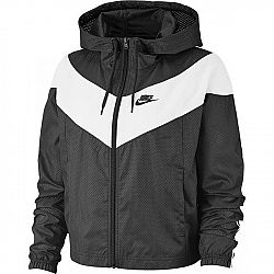 Nike NSW HRTG JKT WNDBRKR tmavo šedá XS - Dámska bunda