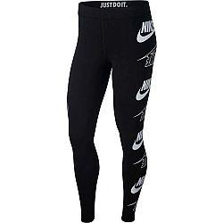 Nike NSW LEGASEE LGGNG FLIP biela XL - Dámske legíny