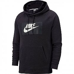 Nike NSW OPTIC HOODIE PO GX čierna S - Pánska mikina