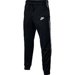 Nike NSW REPEAT PANT POLY čierna M - Chlapčenské športové tepláky