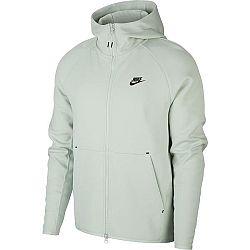 Nike NSW TCH FLC HOODIE FZ béžová XL - Pánska mikina