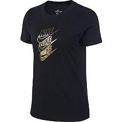 Nike NSW TEE STMT SHINE W čierna M - Dámske tričko