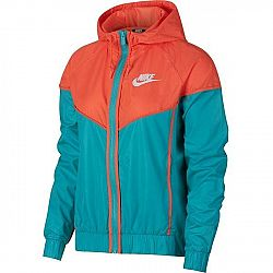 Nike NSW WR JKT oranžová XS - Dámska bunda