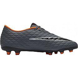 Nike PHANTOM 3 CLUB FG čierna 9 - Pánske kopačky