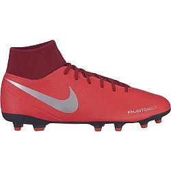 Nike PHANTOM VISION CLUB DYNAMIC FIT FG červená 10.5 - Pánske lisovky
