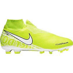 Nike PHANTOM VSN PRO DF FG svetlo zelená 9.5 - Pánske kopačky