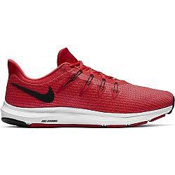 Nike QUEST červená 8.5 - Pánska bežecká obuv