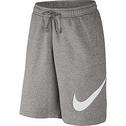 Nike SHORT FLC EXP CLUB šedá S - Pánske šortky
