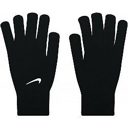 Nike SWOOSH KNIT GLOVES čierna L/XL - Pletené rukavice