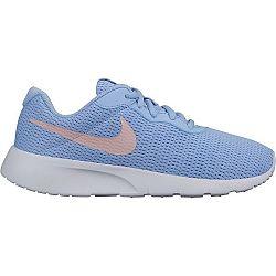 Nike TANJUN sivá 3.5Y - Dievčenská obuv na voľný čas