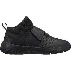 Nike TEAM HUSTLE D8 (GS) čierna 4.5Y - Detská basketbalová obuv