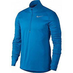 Nike THRMA TOP CORE HZ modrá S - Pánske bežecké tričko