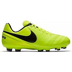 Nike TIEMPO GENIO II LEATHER FG žltá 10.5 - Pánske kopačky