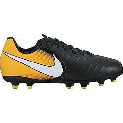 Nike TIEMPO RIO FG JR čierna 4Y - Detské kopačky