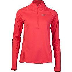 Nike TOP CORE HZ MID W červená XL - Dámsky bežecký top