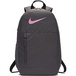 Nike Y ELEMENTAL BKPK - SWOOSH GFX sivá NS - Detský batoh