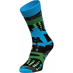 Nordica FREESKI BASIC BOY ružová 31-34 - Detské lyžiarske ponožky