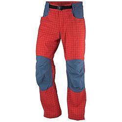 Northfinder GRADY červená S - Pánske nohavice