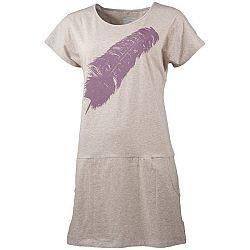 Northfinder VINLEY biela S - Dámske tričko/šaty