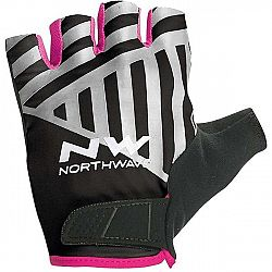 Northwave FLAG SHORT W GLOVES čierna S - Cyklistické rukavice