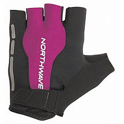 Northwave FLASH SHORT GLOVES čierna S - Cyklistické rukavice