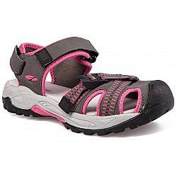 Numero Uno MORELA L šedá 40 - Dámske trekové sandále