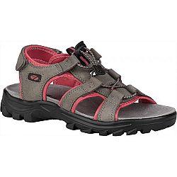 Numero Uno VULCAN L tmavo sivá 41 - Dámske trekové sandále