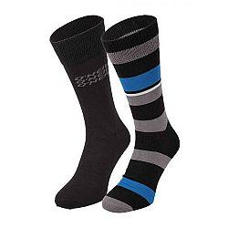 O'Neill ALL OVER STRIPES 2P čierna 39 - 42 - Unisex ponožky