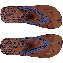 O'Neill FW 3 STRAP DITSY FLIP FLOP modrá 38 - Dámske žabky