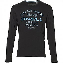 O'Neill LM STAY OUT L/SLV T-SHIRT tmavo modrá XXL - Pánske tričko s dlhým rukávom