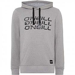 O'Neill LM TRIPLE ONEILL HOODIE šedá XL - Pánska mikina