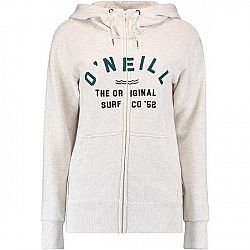 O'Neill LW EASY FANTASTIC FZ HOODIE biela XL - Dámska mikina