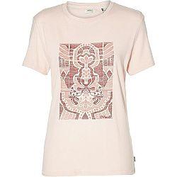 O'Neill LW VALLEY TRAIL T-SHIRT svetlo ružová S - Dámske tričko
