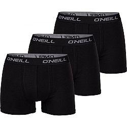 O'Neill MEN BOXER 3PK čierna XL - Pánske boxerky