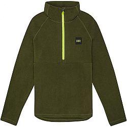 O'Neill PB 1/4 ZIP FLEECE tmavo zelená 164 - Chlapčenská mikina
