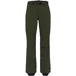 O'Neill PW STAR PANTS tmavo zelená M - Dámske lyžiarske/snowboardové nohavice