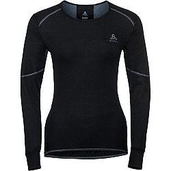 Odlo BL TOP CREW NECK L/S ACTIVE X-WARM čierna XS - Dámske tričko