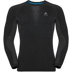 Odlo BL TOP CREW NECK L/S PERFORMANCE WARM čierna XXL - Pánske tričko