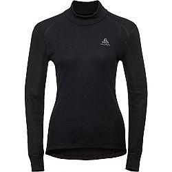 Odlo BL TOP TURTLE NECK L/S ACTIVE WARM čierna M - Dámske tričko