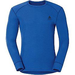 Odlo MEN ACTIVE L/S WARM sivá M - Pánske funkčné tričko