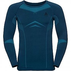 Odlo PERFORMANCE WARM SUW TOP SEAMLES čierna XL - Pánske tričko