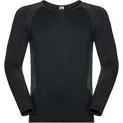 Odlo SHIRT L/S SEAMLESS WARM TOP čierna M - Pánske funkčné tričko