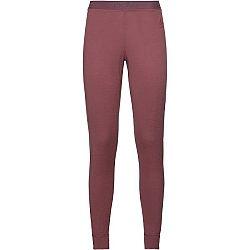 Odlo SUW BOTTOM PANT NATURAL 100% MERINO WARM červená XS - Dámske funkčné nohavice