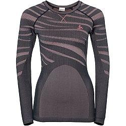 Odlo SUW TOP CREW NECK L/S šedá L - Dámske funkčné tričko