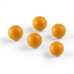 OneConcept Ballyhoo, náhradné loptičky, 5 soft loptičiek, polyuretán, oranžové