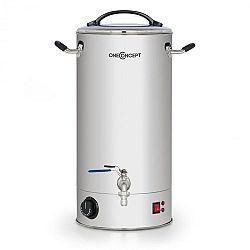 OneConcept Braufreund 30, sladový kotol, dávkovač nápojov, 30 l, 30 - 110°C, ušľachtilá oceľ